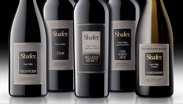shafer wine bottles