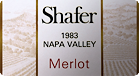 1983 Shafer Merlot Label