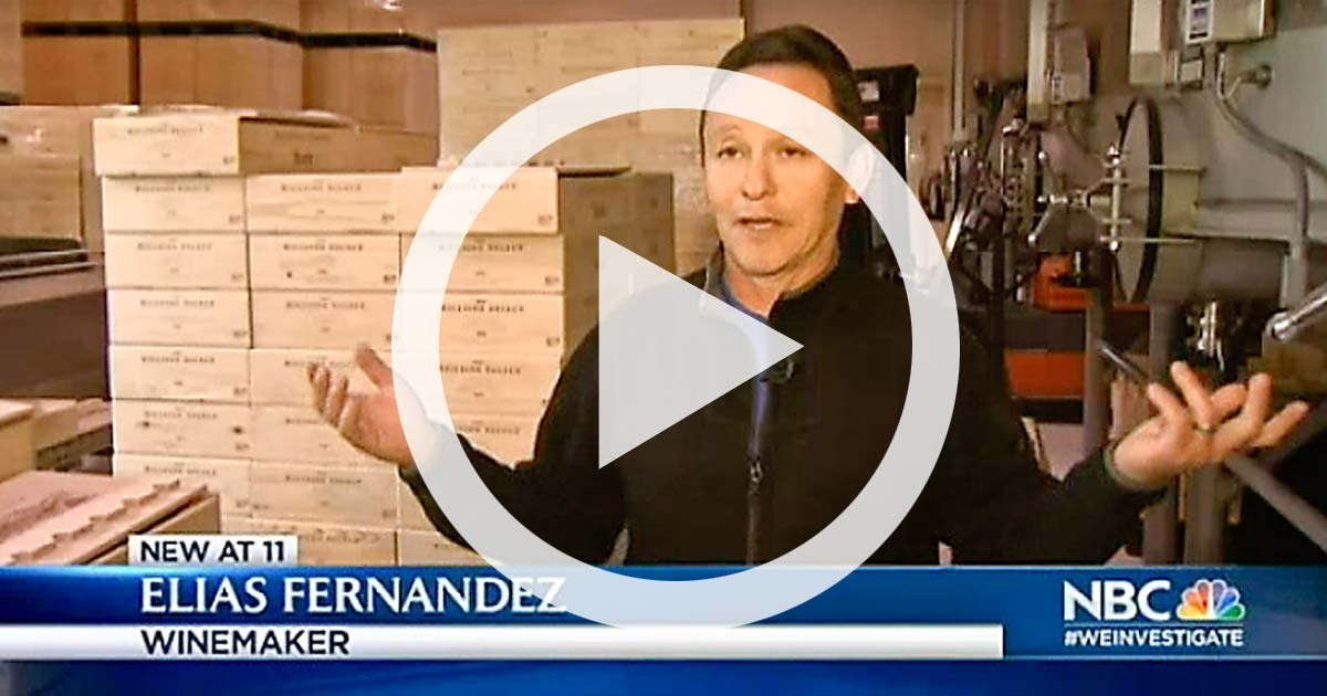 NBC VIDEO: Wi-Fi Winemaking -- NBC Bay Area Features Shafer Technology